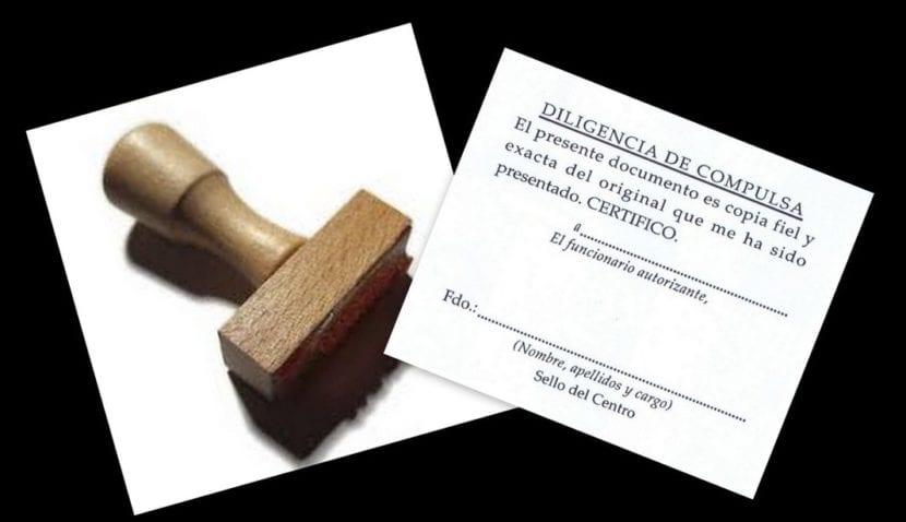 Compulsar documentos oficiales